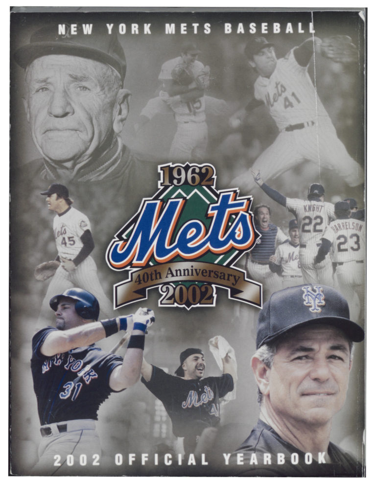 2002 Mets Yearbook: The 40th Anniversary