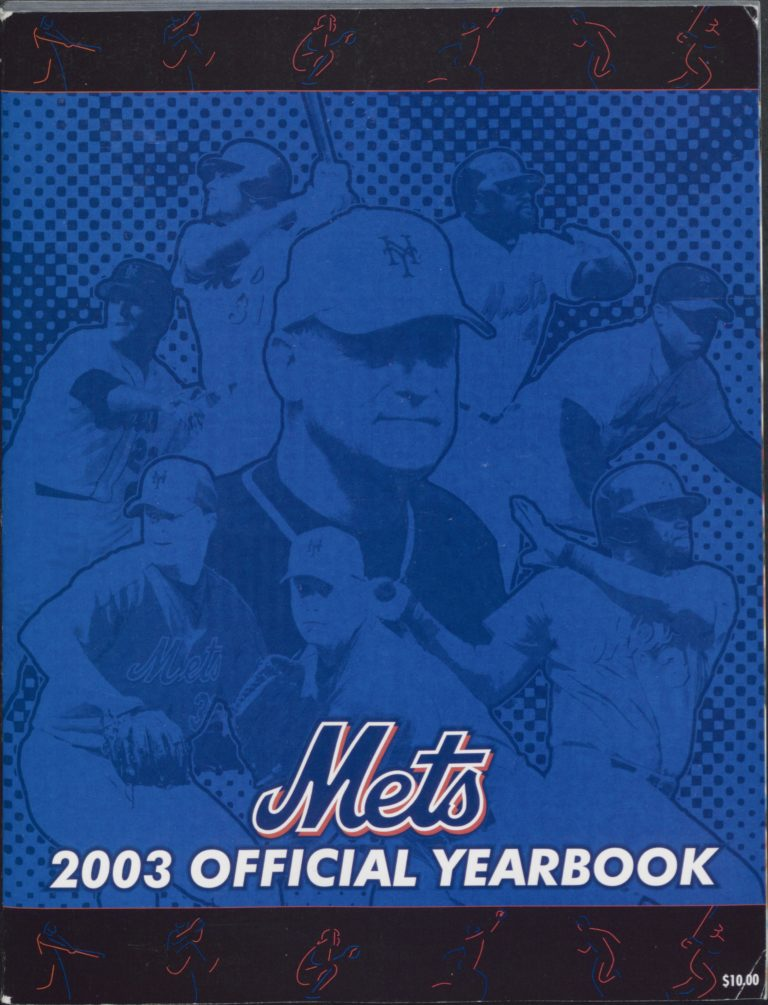 2003 Mets Yearbook: Art Howe Takes Over