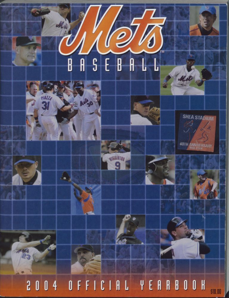 2004 New York Mets Yearbook: 40 Years at Shea