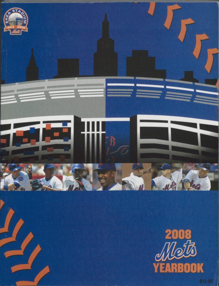 2008 Mets Yearbook: Last Season at Shea Stadium