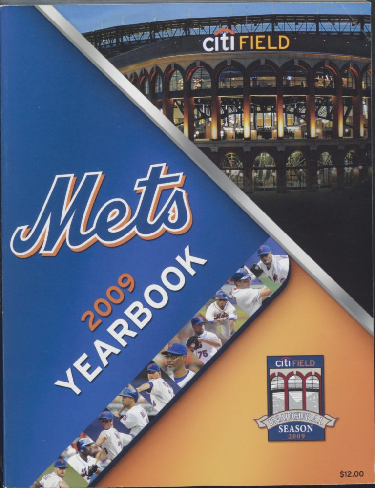 2009 New York Mets Yearbook: First Year at Citi Field