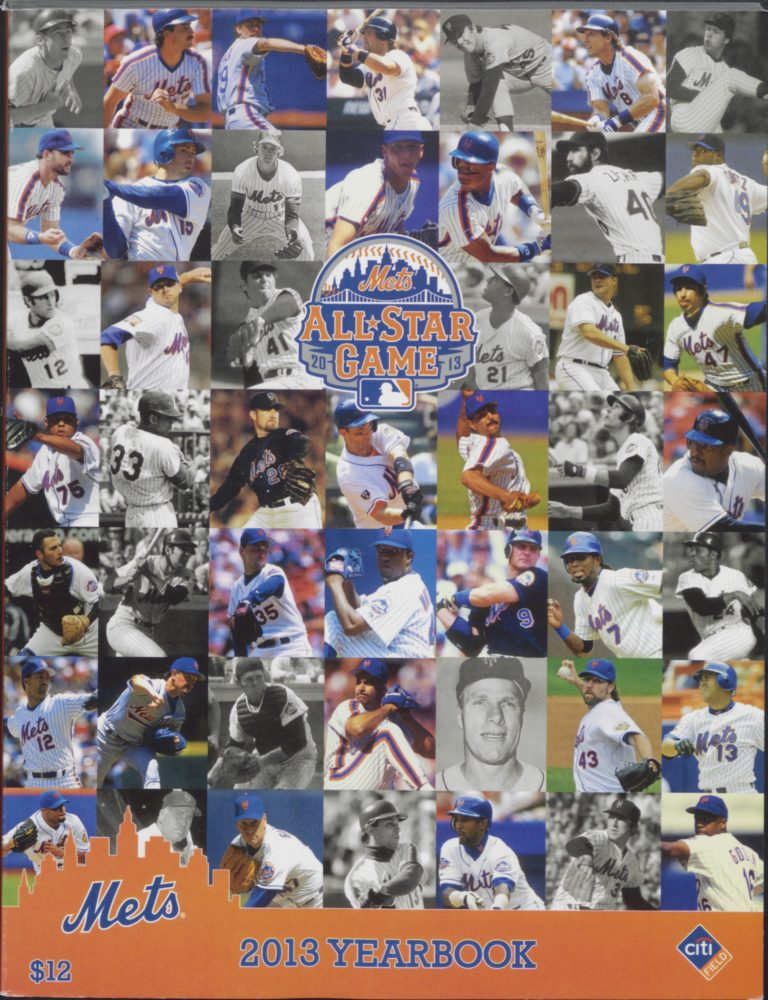 2013 Mets Yearbook Featuring All-Star Game