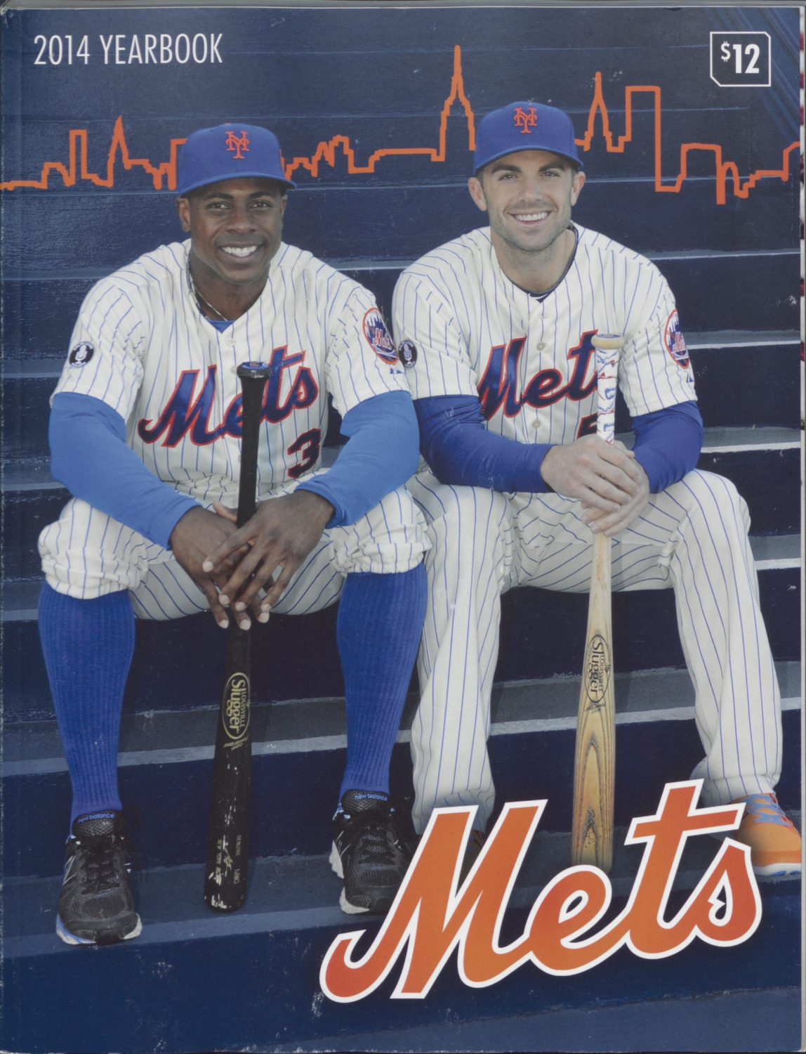 2014 New York Mets Yearbook Featuring Granderson & Wright
