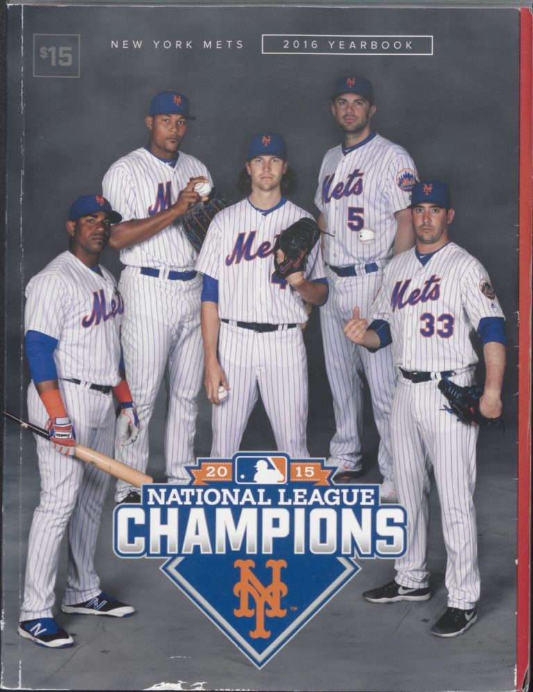2016 Mets Yearbook: Celebrating the NL Pennant