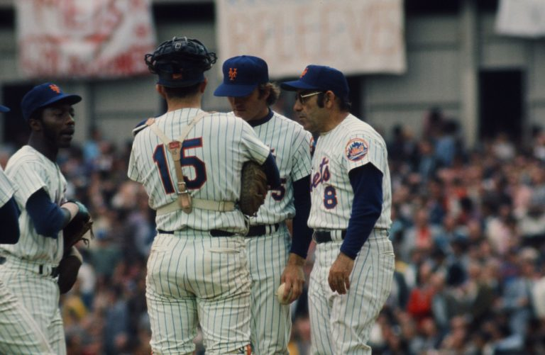Berra's Trip to the Mound During 1973 NLCS