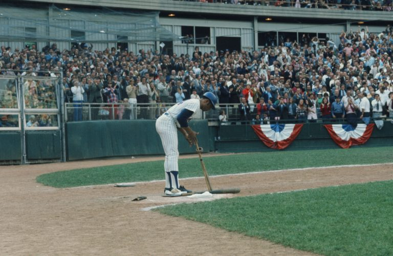 Willie Mays Pinch Hits in Game 5 of 1973 WS
