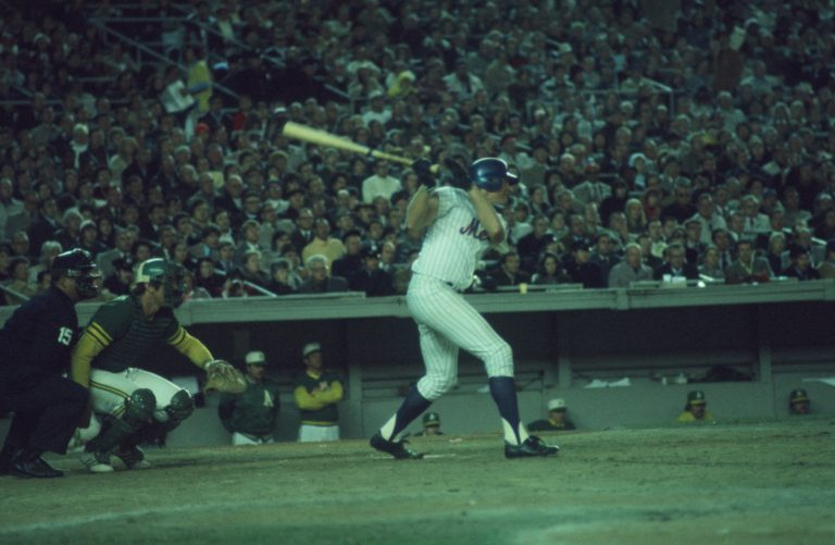 Rusty Staub Hits During 1973 World Series