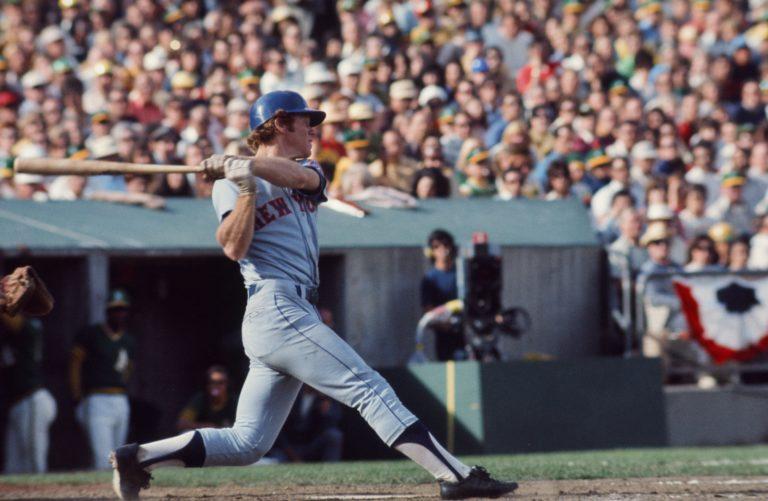 Wayne Garrett Hits Home Run in '73 World Series