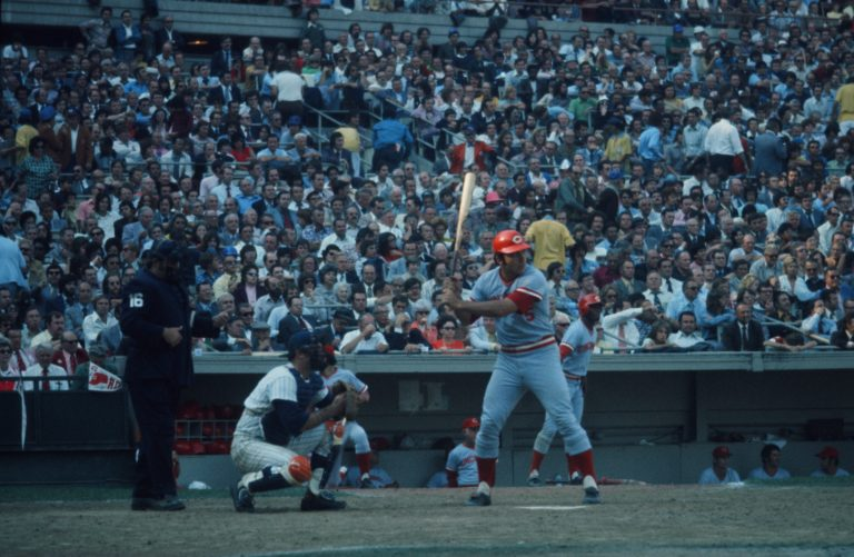 Bench in the Batter's Box in 1973 NLCS