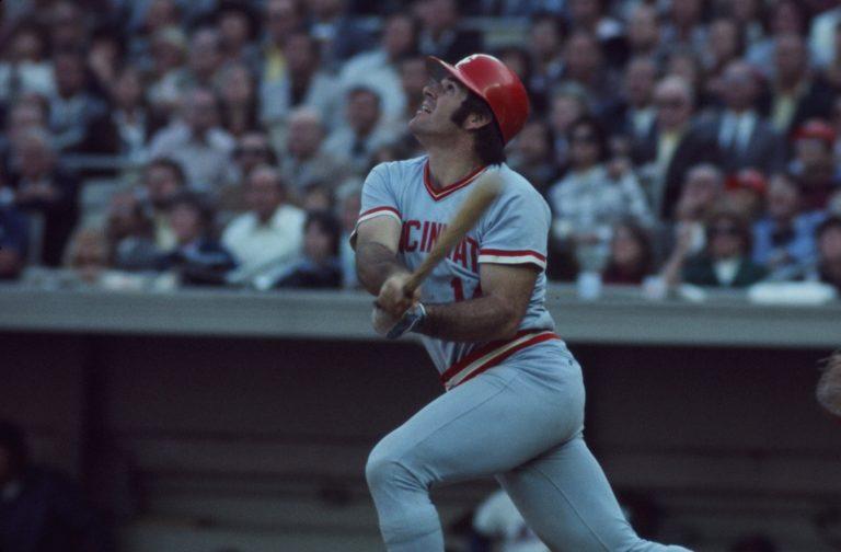 Pete Rose At-Bat During 1973 NLCS