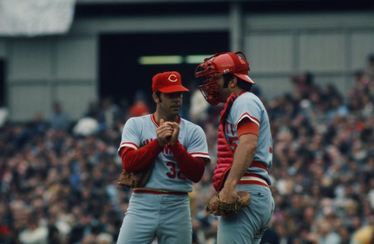 Reds Norman & Bench Talk Strategy in 1973 NLCS
