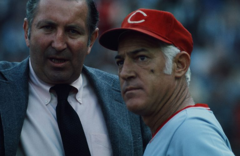 Reds Manager Sparky Anderson in 1973 NLCS