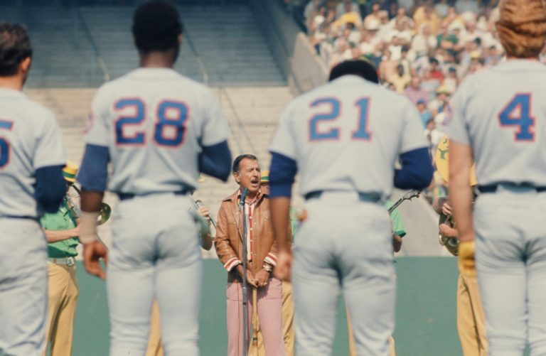 Mets Stand for Anthem in 1973 World Series