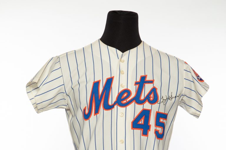 Tug McGraw Autographed Jersey - Front