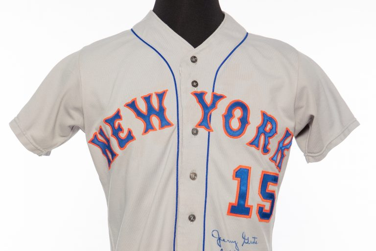 Autographed Jerry Grote Jersey - Front