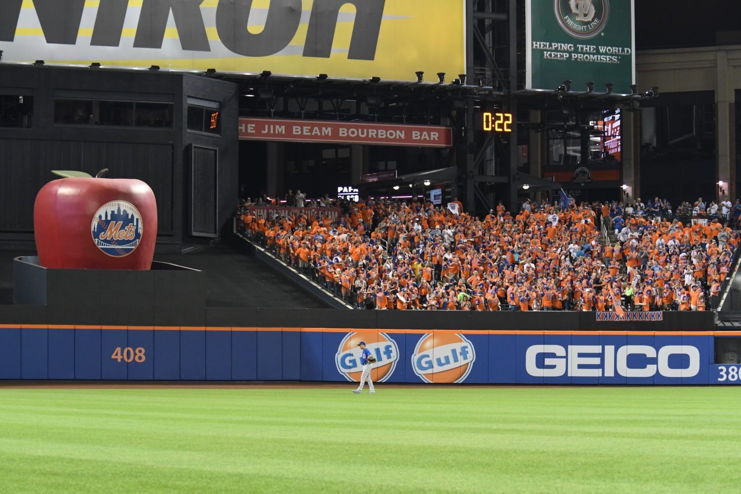 7 Line Army Cheers on the Mets