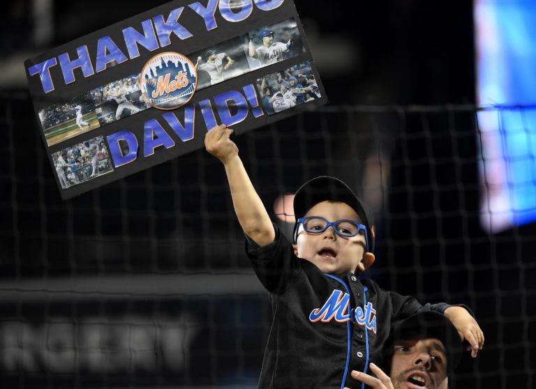 Young Fan Salutes David Wright