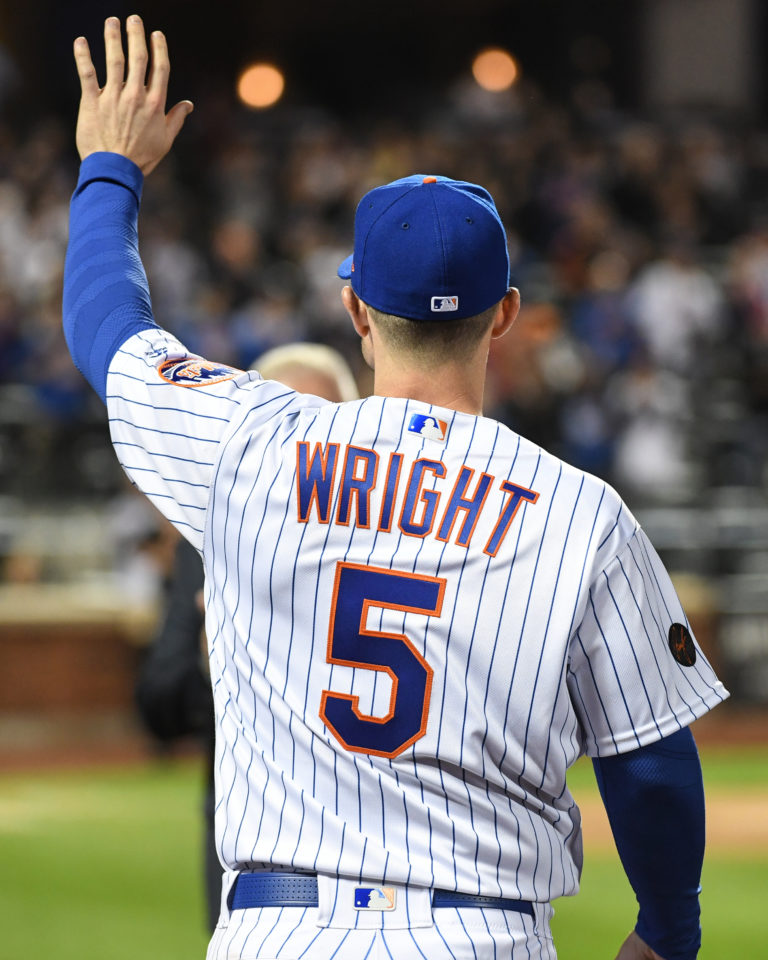 David Wright Bids Farewell to Mets Fans
