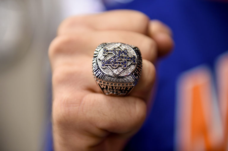David Wright Shows Off 2015 NLCS Ring