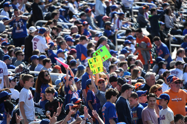 Fans Pack Citi Field for 2019 Opening Weekend