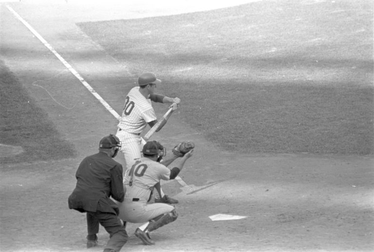 Nolan Ryan At-Bat During 1969 NLCS