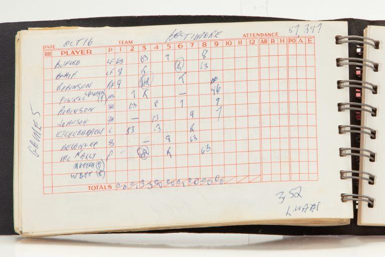 Scorebook: Mets Win the 1969 World Series