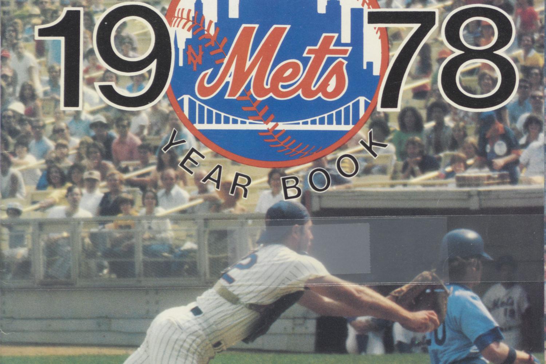 Mets 1978 Yearbook: John Stearns