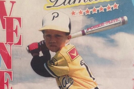 Young Wilmer Flores on Local Magazine Cover