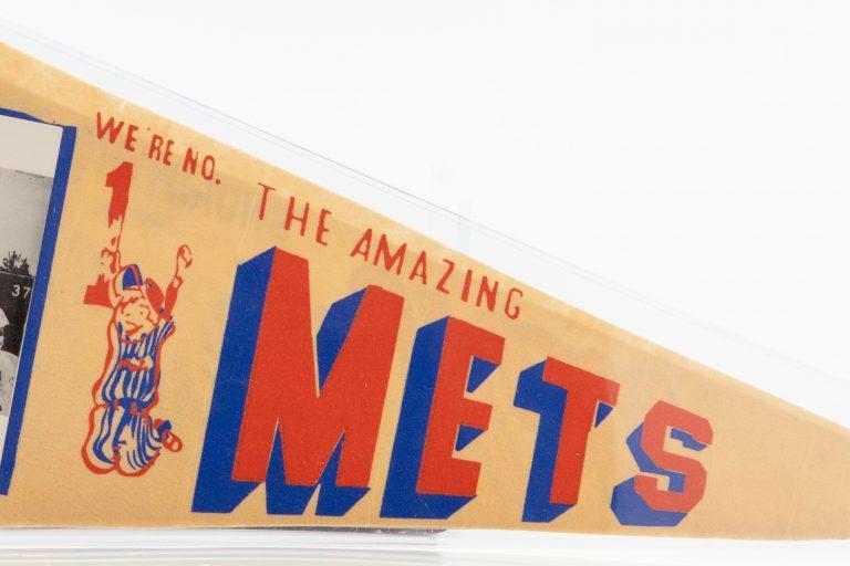 1969 New York Mets NL Championship Pennant