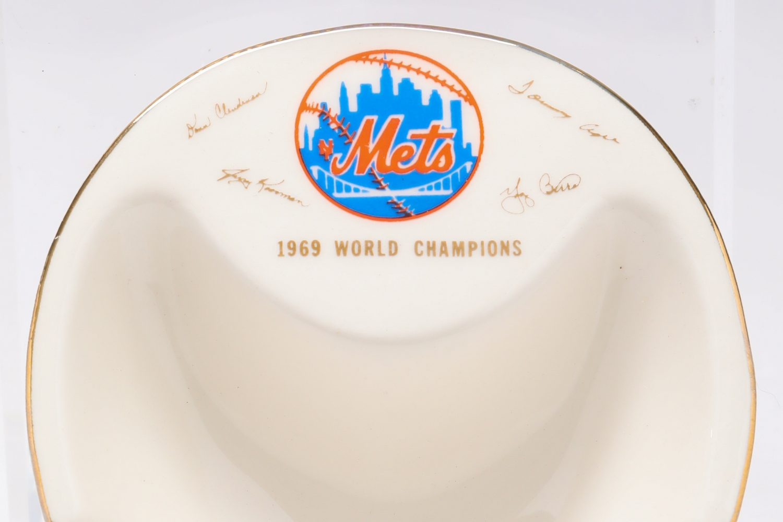 Autographed 1969 World Series Ashtray