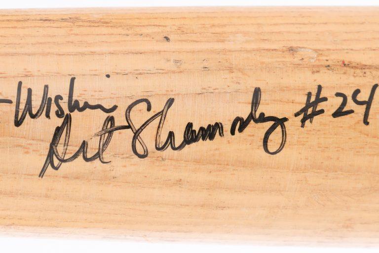 Art Shamsky Autographed Baseball Bat