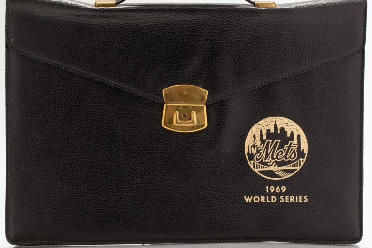 1969 World Series Mets Logo Briefcase