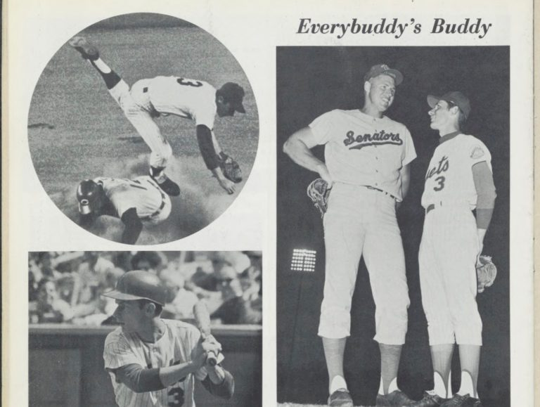 Bud Harrelson's Page from 1969 Mets Yearbook