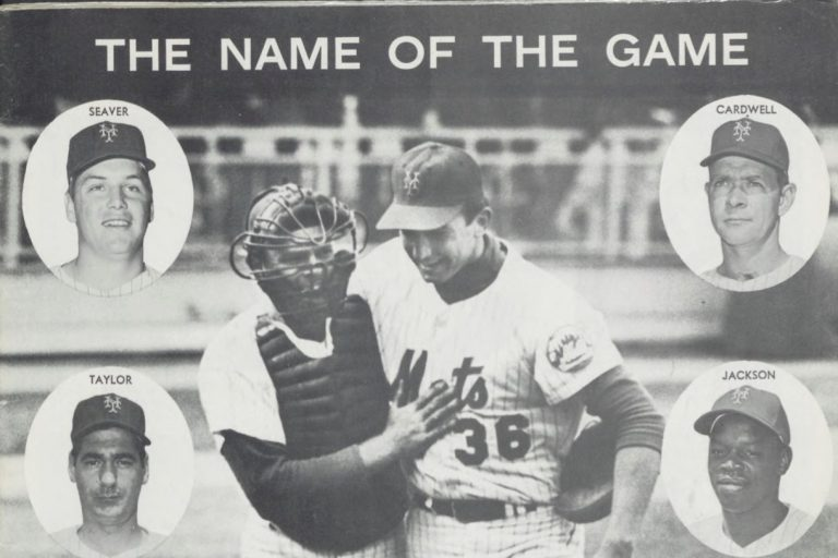 1969 Mets Yearbook: Year of the Pitcher