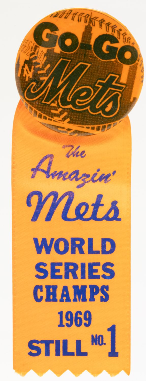 1969 Go-Go Mets Button