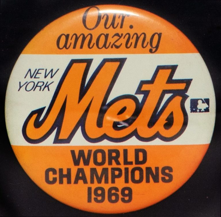New York Mets 1969 World Champions Button
