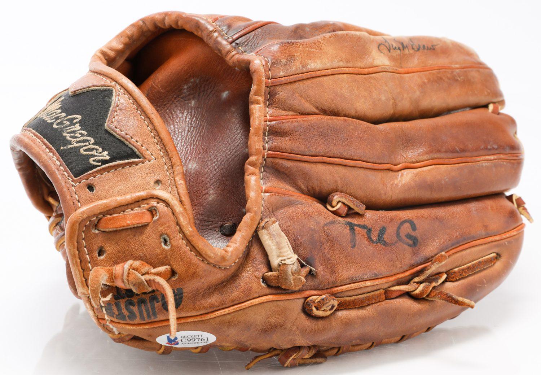 Tug McGraw Autographed Catchphrase Glove