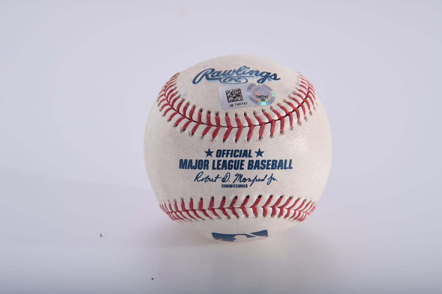 Game-Used Ball When Jeff McNeil Reached 200 Career Hits