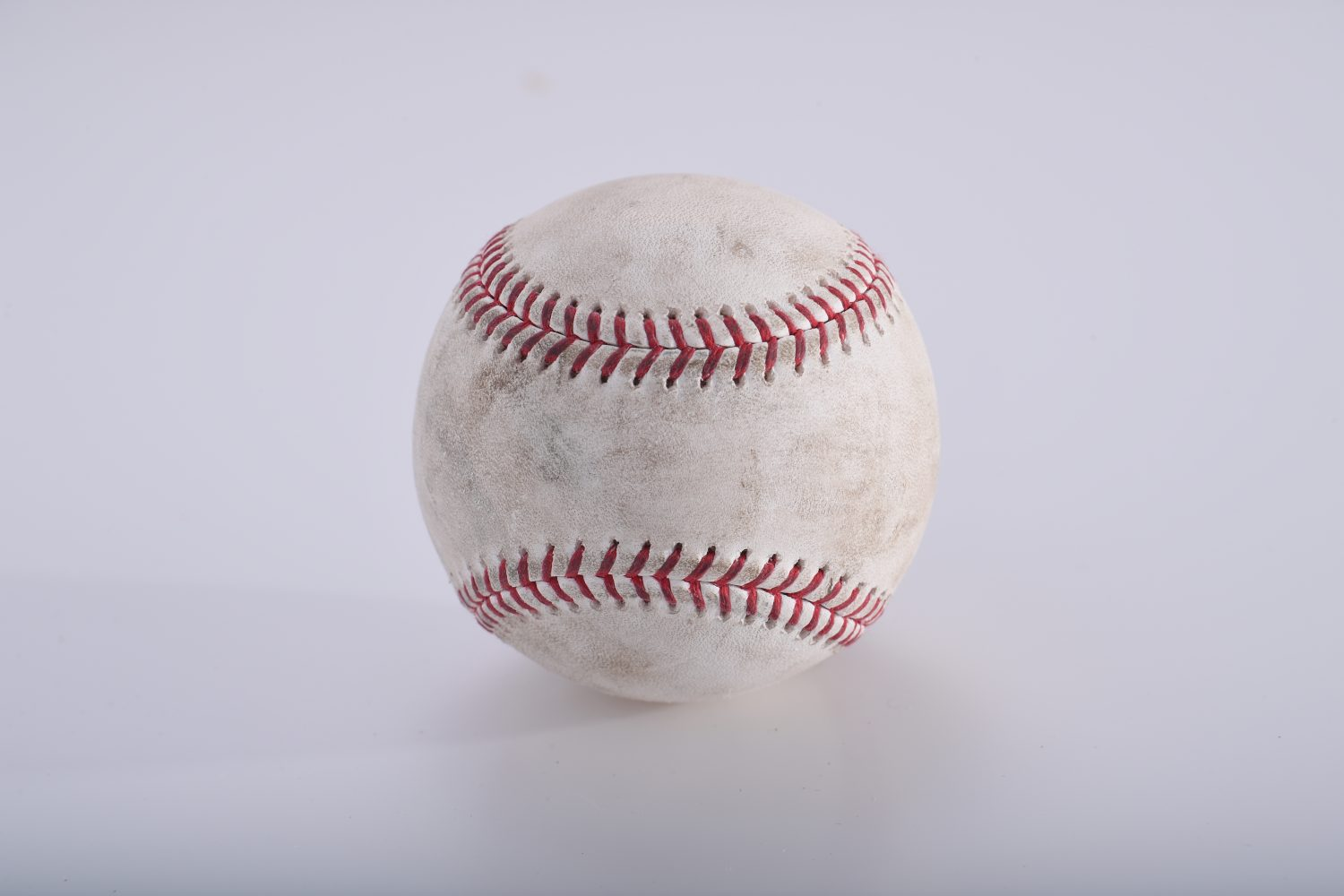 Game-Used Ball from Pete Alonso's First Hit