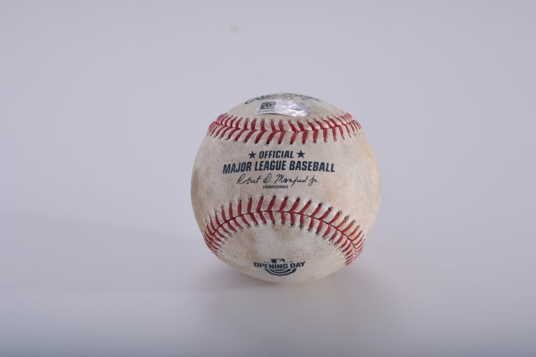 2019 Opening Day Game-Used Ball