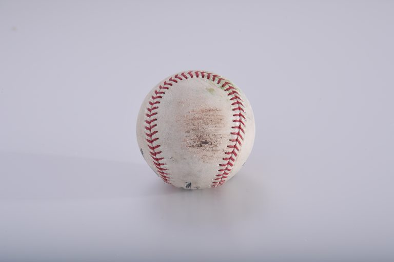 Game-Used Ball from Opening Day 2019