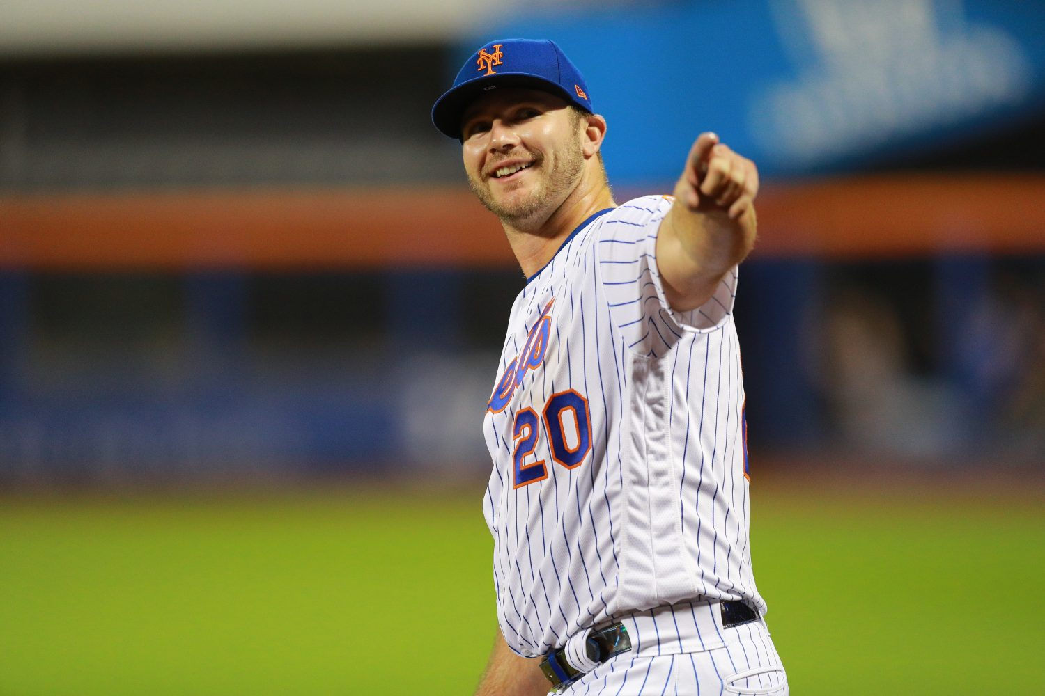 Pete Alonso Smiles as He Ties Judge Record