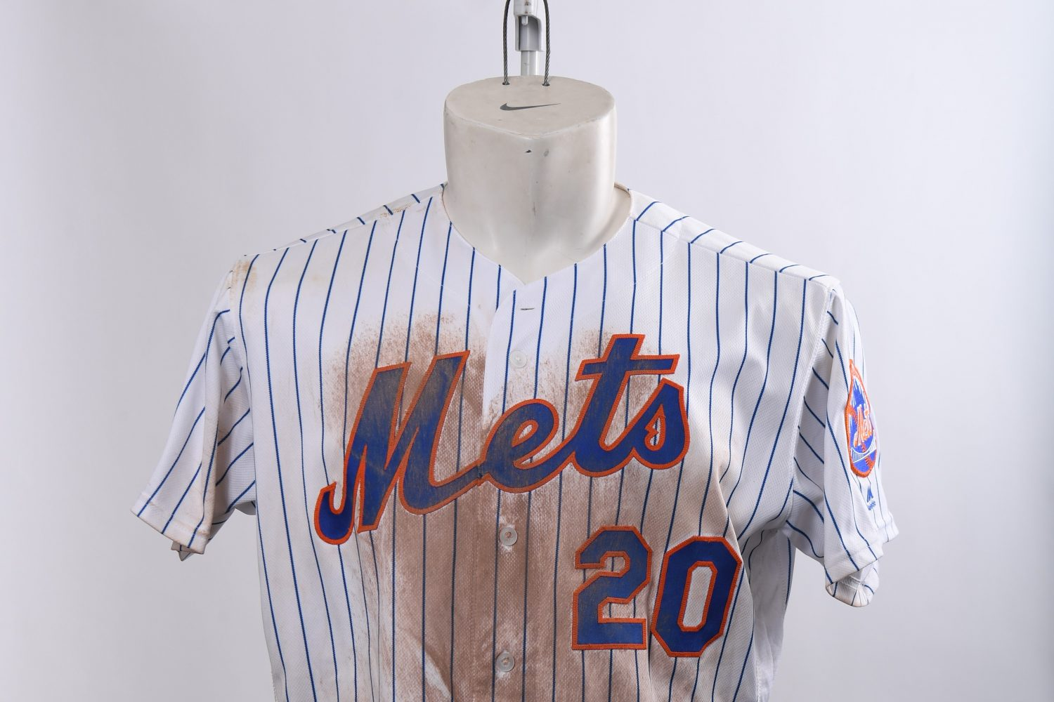 Pete Alonso Jersey Worn for Two Records
