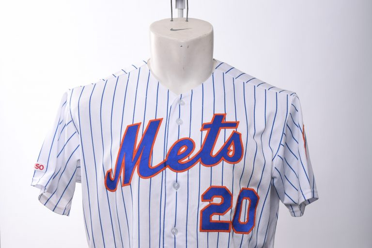 Pet Alonso Game-Worn Jersey from Home Run no. 42