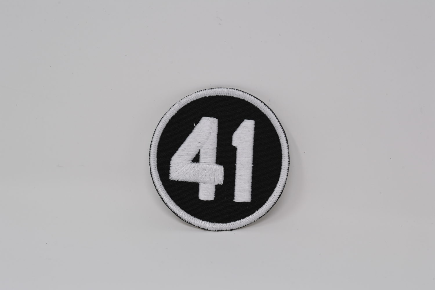 No. 41 Sleeve Patch Worn to Honor Tom Seaver