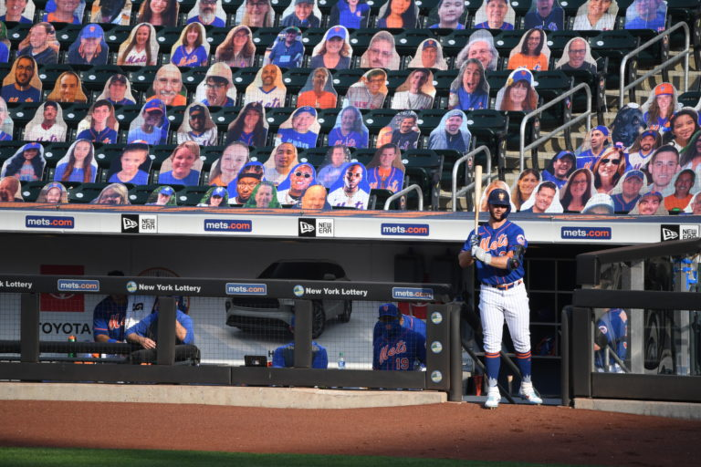 Mets Fans Cutouts During COVID-19