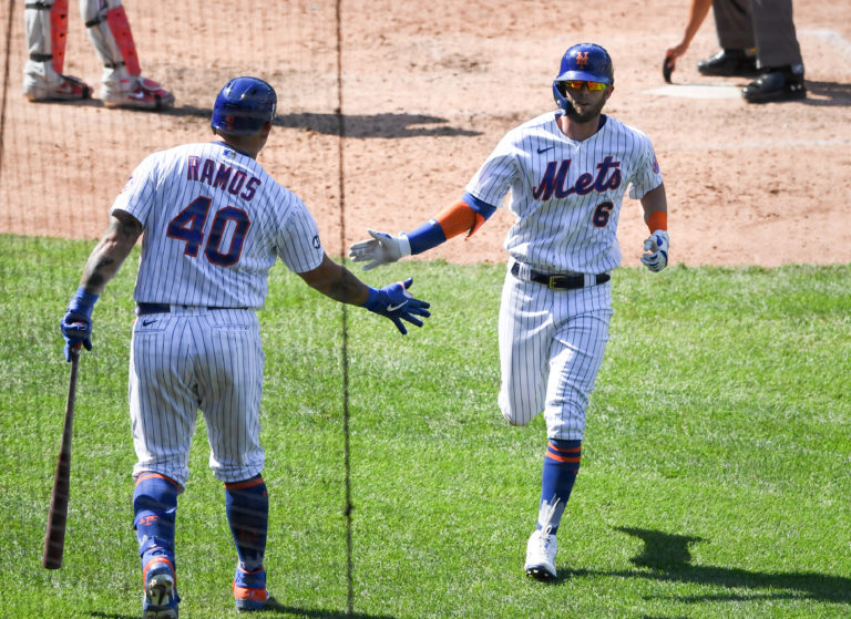 Jeff McNeil and Wilson Ramos in 5 Home Run Game