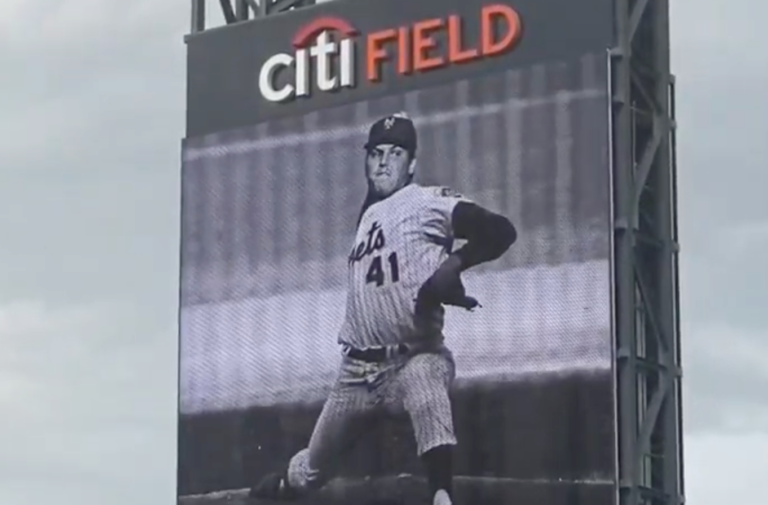 Tom Seaver Memorial Billboard at Citi Field