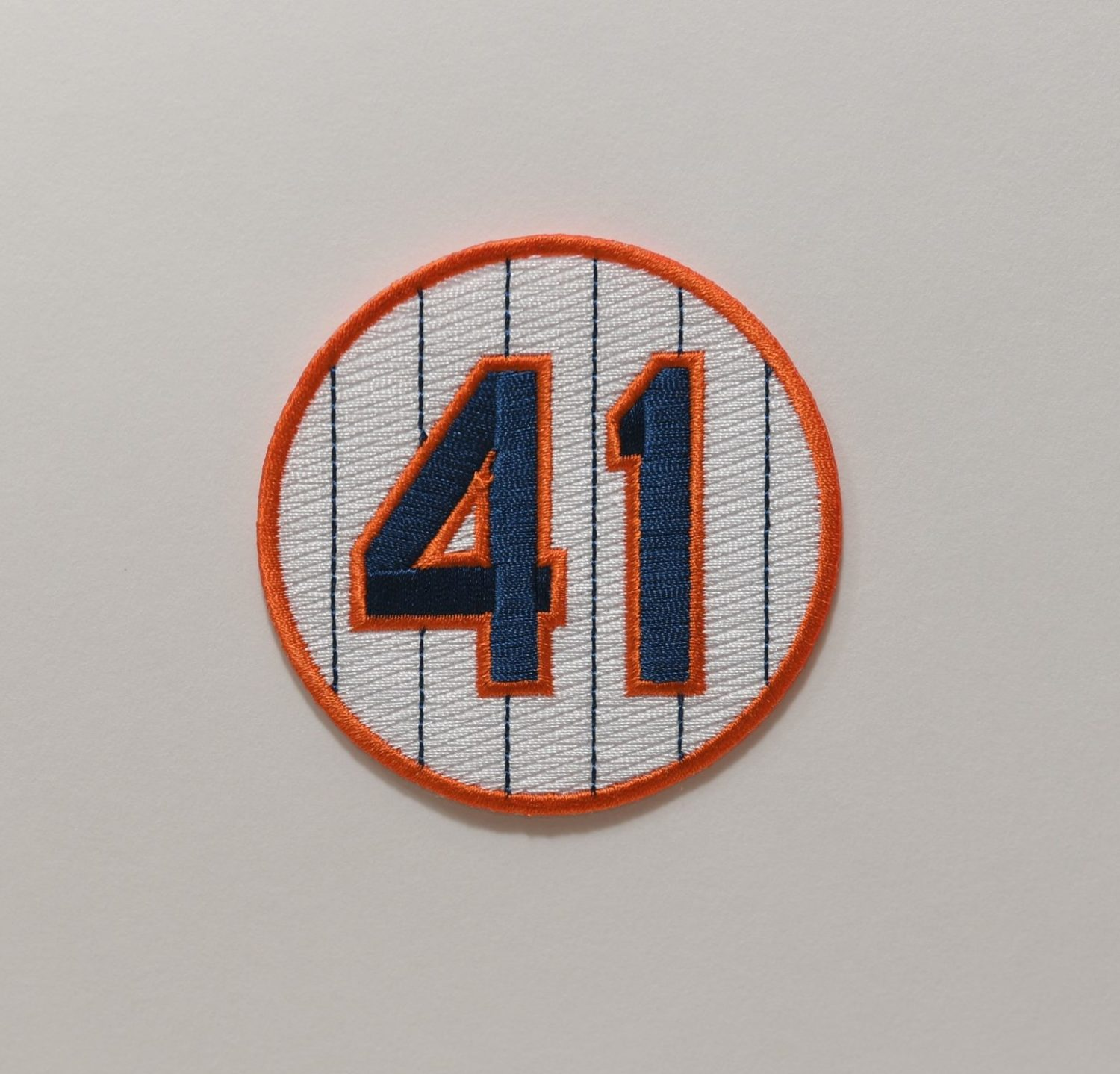Circle patch with the number